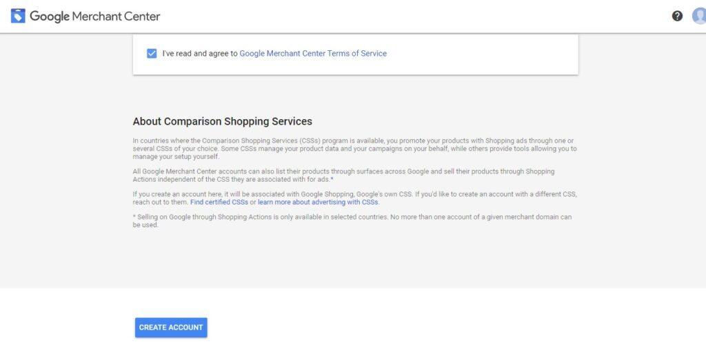 Xác minh doanh nghiệp trên google merchant