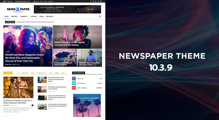 chia se theme chuan seo lam tin tuc newspaper 10 3 9 1